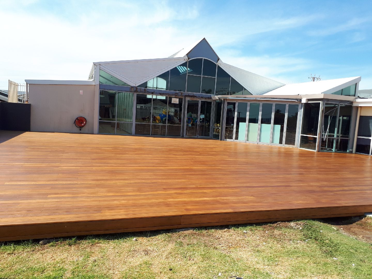New and existing Timber decks